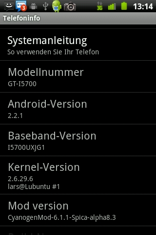 Cross-Compiling Android Kernel – Samsung GALAXY SPICA I5700